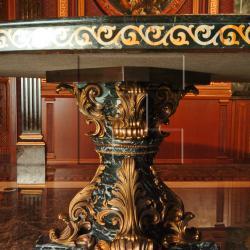 Кованая ножка стола